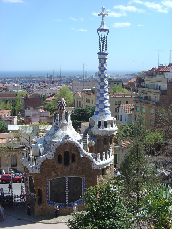 Barcelone - Le parc Guell (Gaudi)