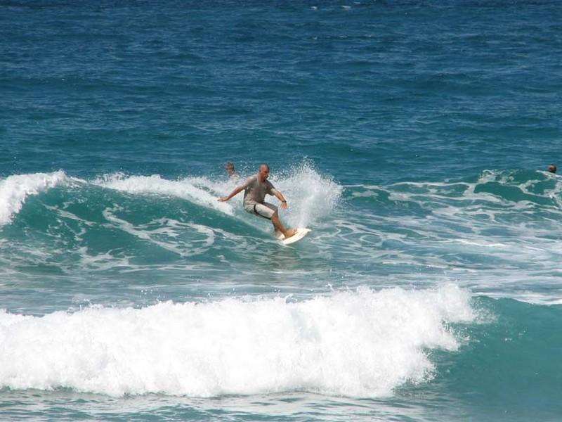 Le surf à Manly