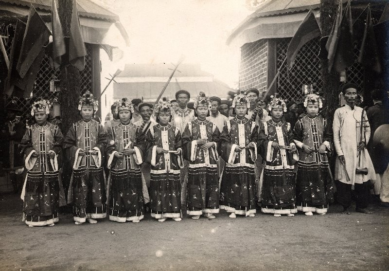 Danseuses du Sud Annam