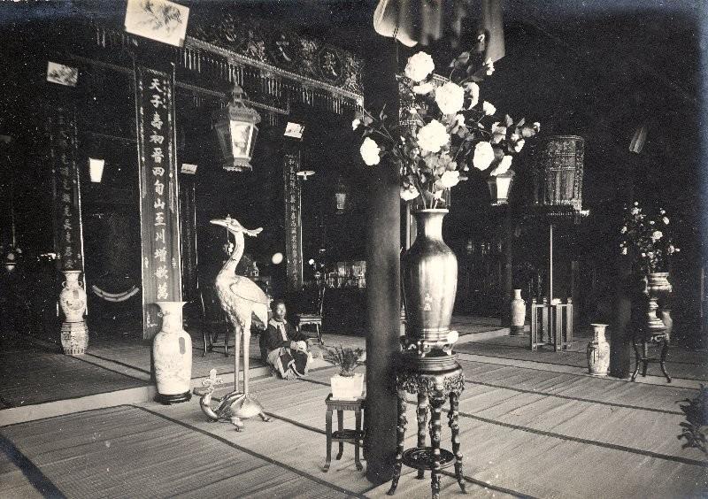 Intérieur du palais d'exposition des cadeaux