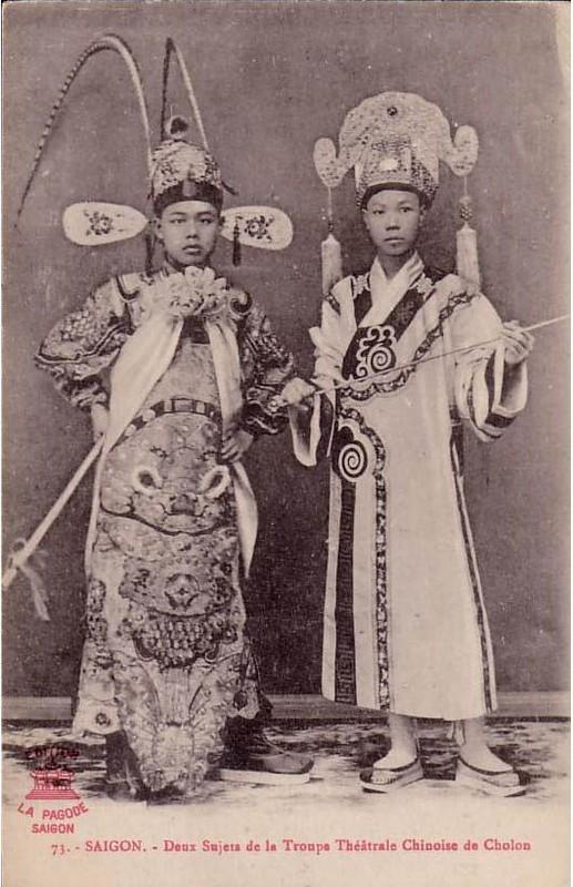 Des acteurs chinois à Cholon
