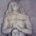 Détail d'une sculpure dans une église de Berlin