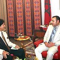 جلالة الملك يستقبل مبعوثا من العقيد معمر القذافي
