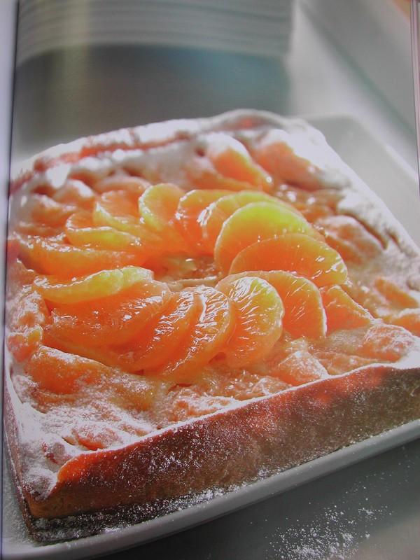 tarte mirliton aux mandarines