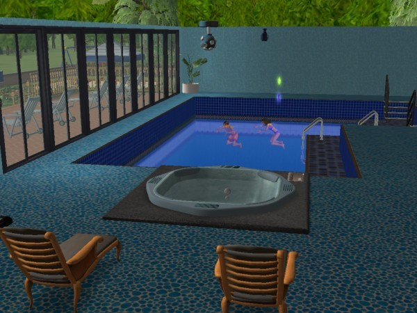 H la piscine int rieure et son bain relaxant photo de for Bain relaxant maison