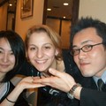 With Ayuko and Brian