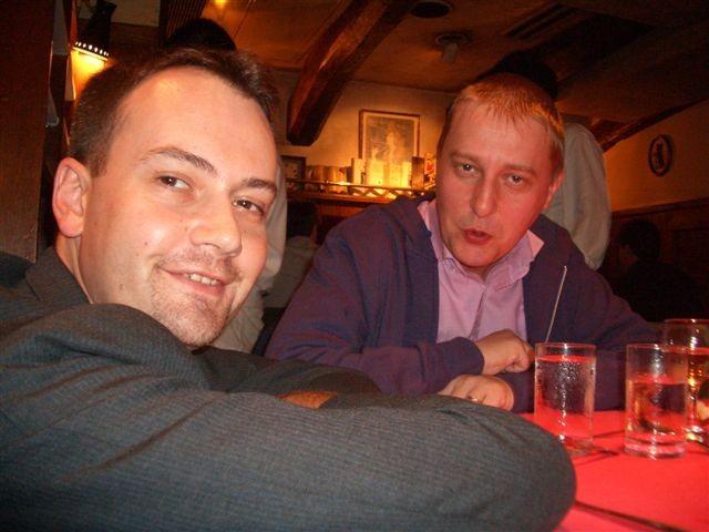22 Oct 2005 Regis et Daniel
