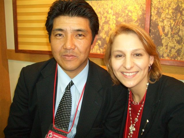 Foodex 2006 (3/14 au 3/18) avec Takamori san