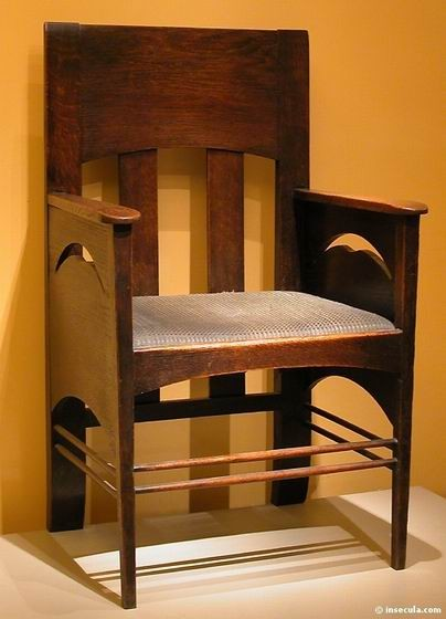 Charles Rennie Mackintosh - Fauteuil 1897