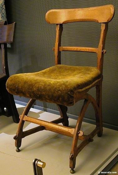 Edward Welby Pugin - Chaise vers 1870