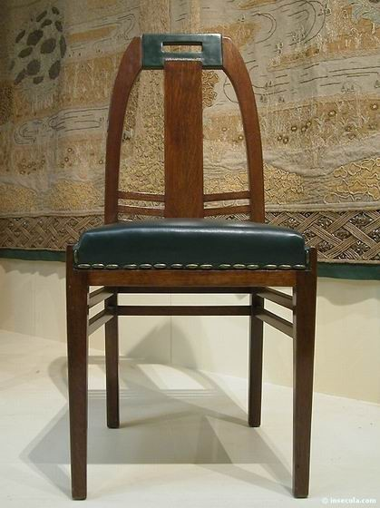 Peter Behrens - Chaise 1902