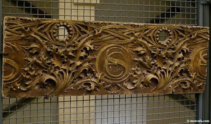 Louis Henry Sullivan - Elémént décoratif Frise 2