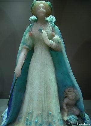 François Decorchemont - Statuette Estérelle 1911