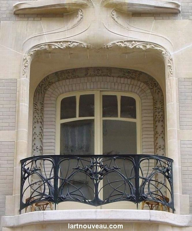 Guimard - Hôtel Mezza Balcon central