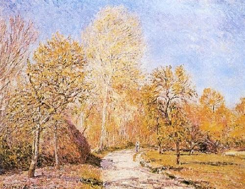 Alfred-Sisley - Autumn - Landscape