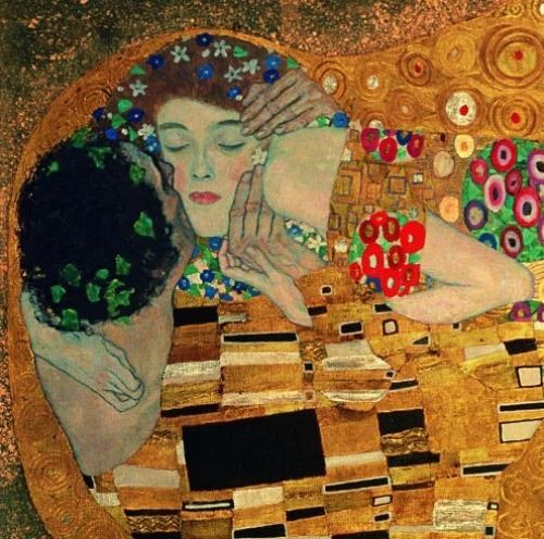 Gustav-Klimt - Il bacio