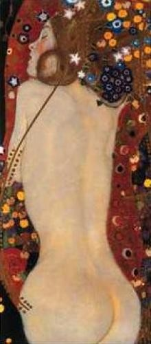 Gustav-Klimt - Sea Serpents