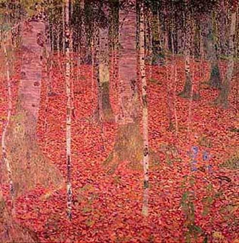 Gustav-Klimt - The Birchwood