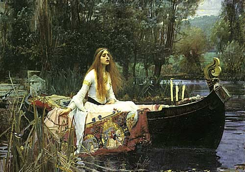John-William-Waterhouse - The-Lady-of-Shalott