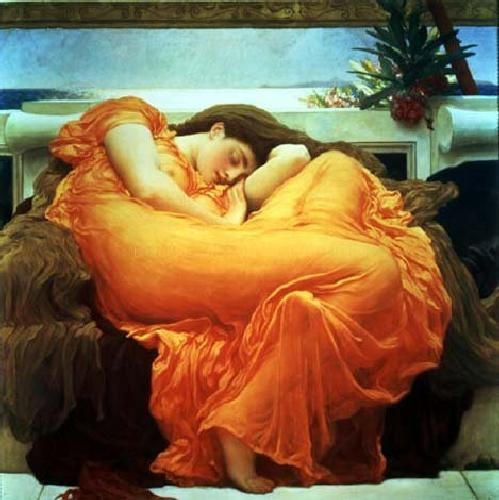 Lord Frederick Leighton Flaming - June