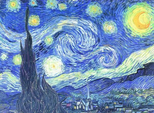Vincent Van Gogh - S arry Night