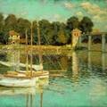 Claude-Monet - Le-pont - d-Argenteuil