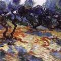 Vincent Van Gogh - Olive Trees - 1889