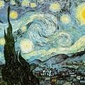 Vincent Van Gogh - Starry Night -2
