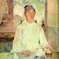 Toulouse-Lautrec - Femme - Le café