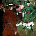Toulouse-Lautrec - Quadrille au Moulin rouge