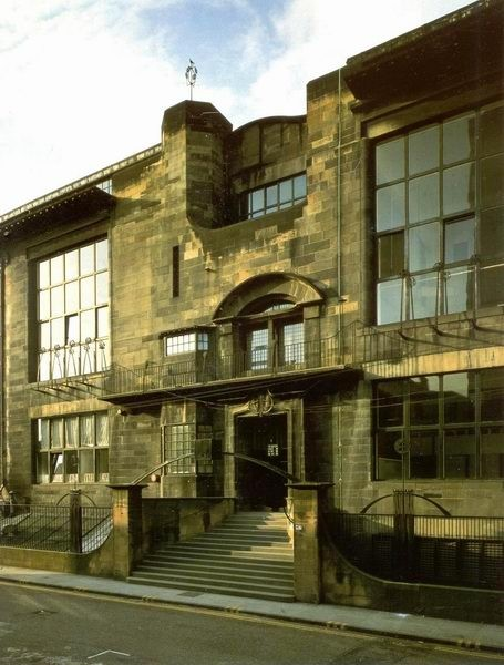Charles Rennie Mackintosh - Ecole à Glasgow (1)