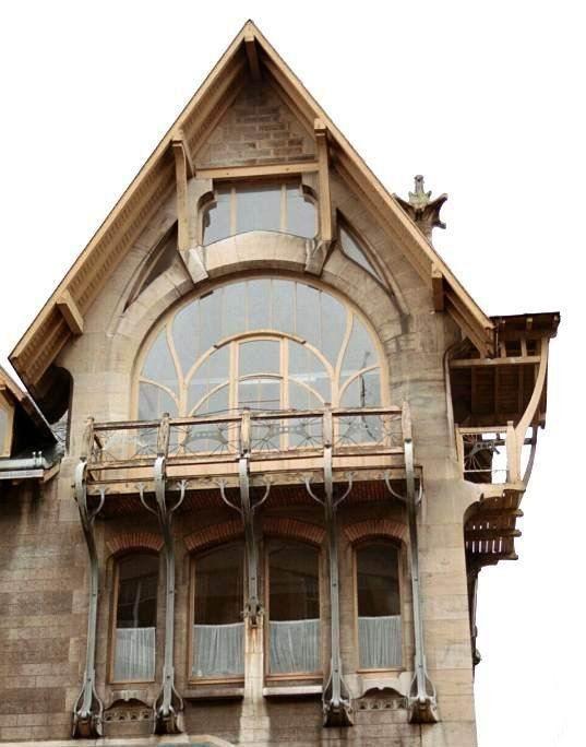 Henri Sauvage - Villa Majorelle - Fenêtres