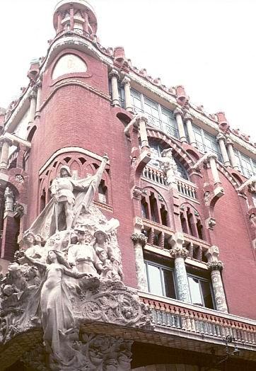 Lluís Domènech i Montaner - Palau de la Musica Catalala - 1908