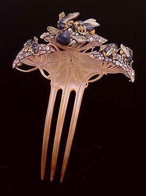 René Jules Lalique - Peigne