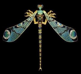 René Jules Lalique - libellule