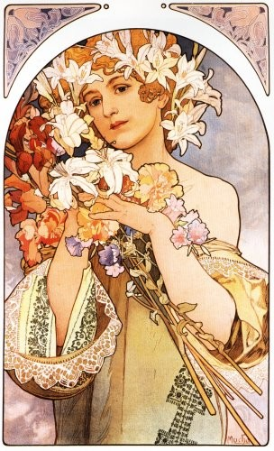 Alphonse Mucha - La Fleur - 1897