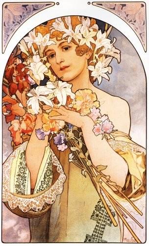 Alphonse Mucha - La Fleur - 1897
