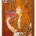 Alphonse Mucha - Papier Cigarette Job