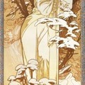 Alphonse-Mucha Hiver -1900