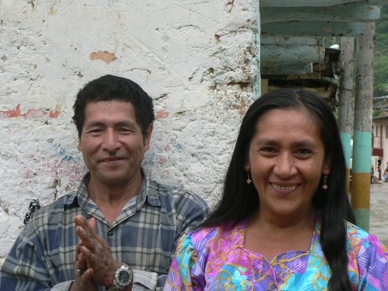 Un couple de producteurs a Montero