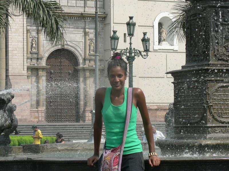 La fontaine la plus connue de Lima