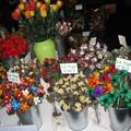 Des fleurs en chocolat