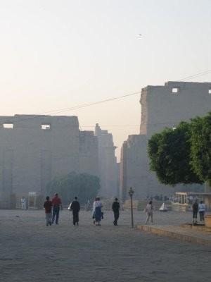 Entrée du temple de Karnak