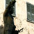 Le général GAFFORI devant sa maison. Copyright Olivier GOMEZ