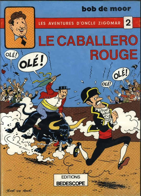 2. Le caballero rouge (N/B) 1979