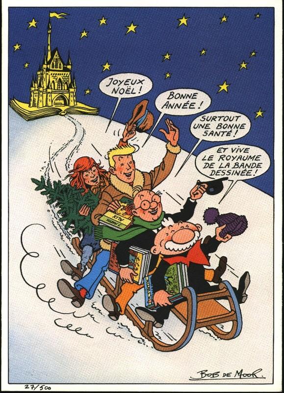 Carte du Royaume de la BD (Québec 1985)