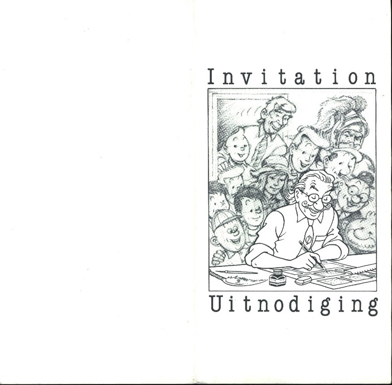 Carte d'invitation (1986)