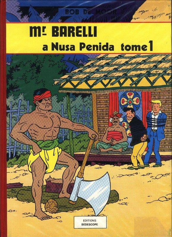 5. Barelli à Nusa Penida (Tome 1) Bédéscope 1980