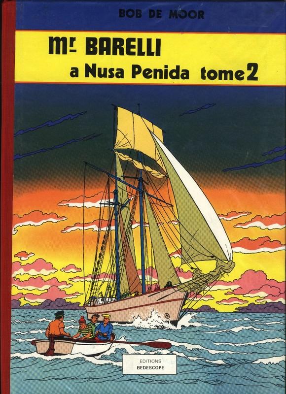6. Barelli à Nusa Penida (Tome 2) Bédéscope 1980