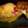 Muffins aux cranberries d'Estelle zoom
